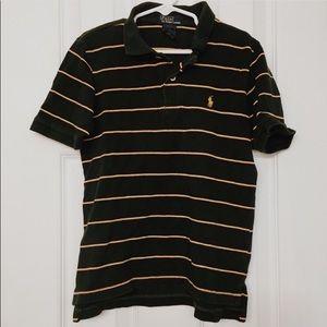 Polo by Ralph Lauren Striped Polo Shirt Green 7